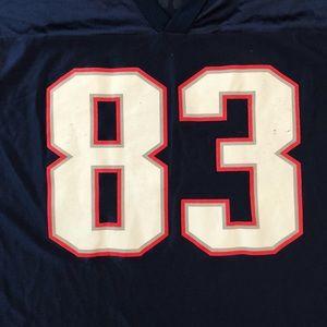 Reebok Shirts - Vintage Wes Welker New England Patriots jersey 73e01883c